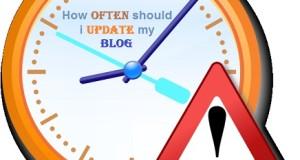 How often you should publish a new blog post to get maximum profit.