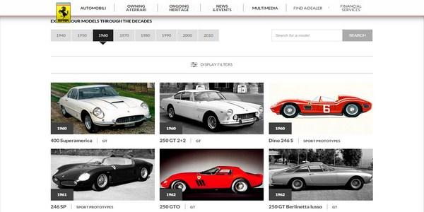 Ferrari History