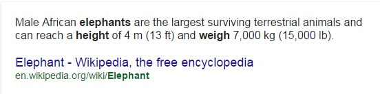 how much does an elephant weigh