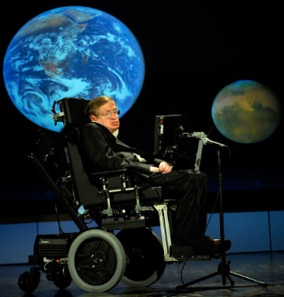 stephen hawking's computer - Inspiring Stories of Physically Challenged People