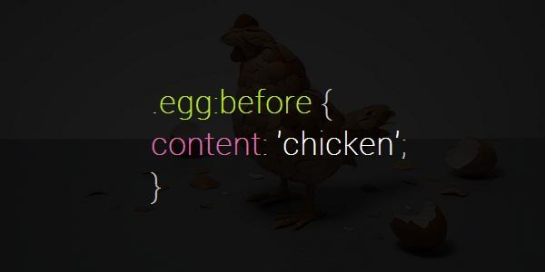 Chicken before egg