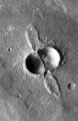 Mars' Mitosis Crater