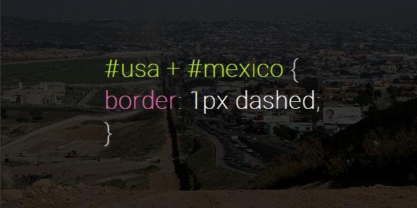 Mexico USA Border