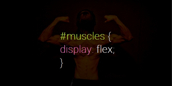 Having puns with CSS- muscles