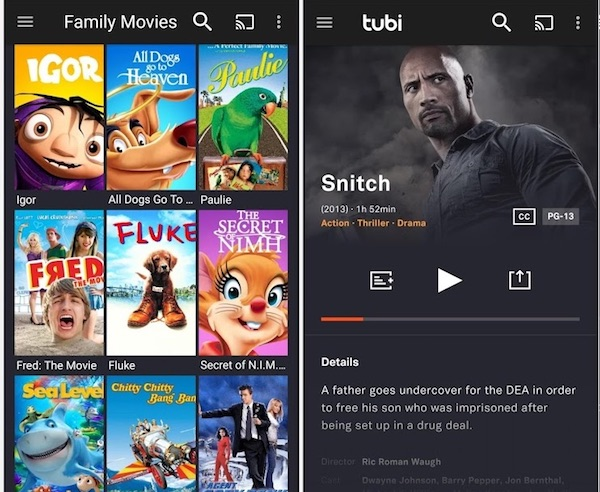 best apps for movies and series